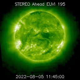 Space Weather Forecasts - ESTUDIO DEL SOL Y LA #MAGNETOSFERA , #ASTRONOMÍA - Página 7 Ahead_euvi_195_latest