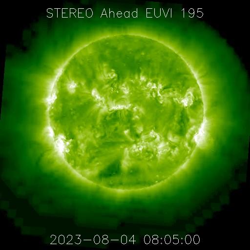 Aktualny wygląd powierzchni Słońca