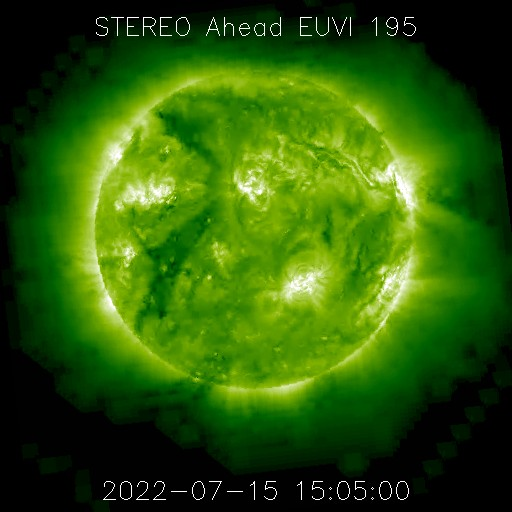 STEREO Ahead EUVI 195